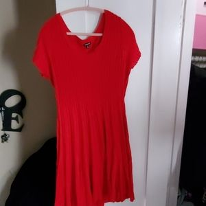 Torrid red knit dress